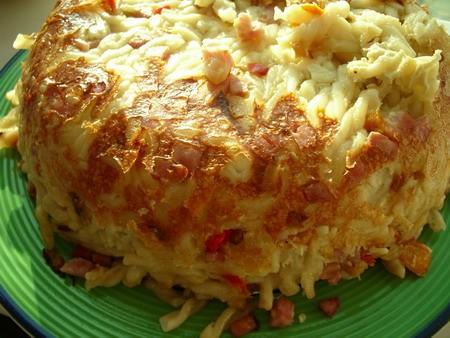 Это блюдо сделано по мотивам рецепта ЧЕШСКИХ ФЛЬЯЧИКОВ С ВЕТЧИНОЙ