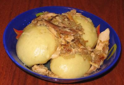 Галушки по Полтавски с рваной курицей Рецепт моей любимой свекрови, это блюдо визитная карточка Пол... - 5