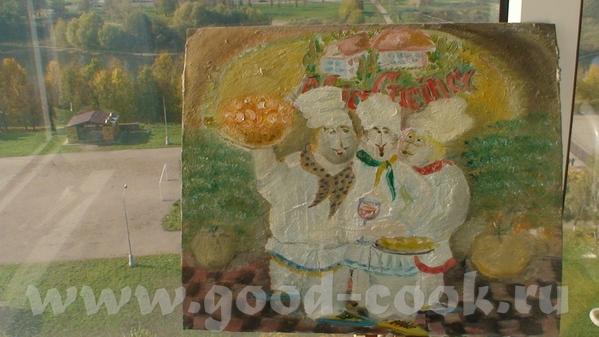lisakirsenko из оставшихся от осени красок навала на картонке, баловство конечно по полной, но похи...