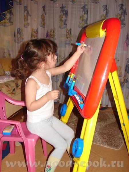 """... И так)) Тема: """"Учимся рисовать"""" поглотила не только взрослое население, но и наших малышей. Кот... - 2"""