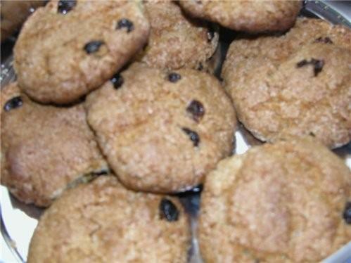Овсянные печенья
