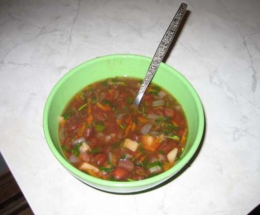 Фасолевый суп от Irisochka