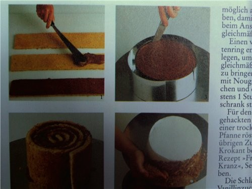 "Торт ""Улитка"" Тесто: 7 яиц 150 гр сахарной пудры 100 гр муки 50 гр крахмала Яйца разделяем - 2"