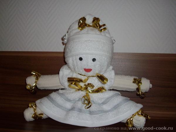 Кукла из полотенчиков