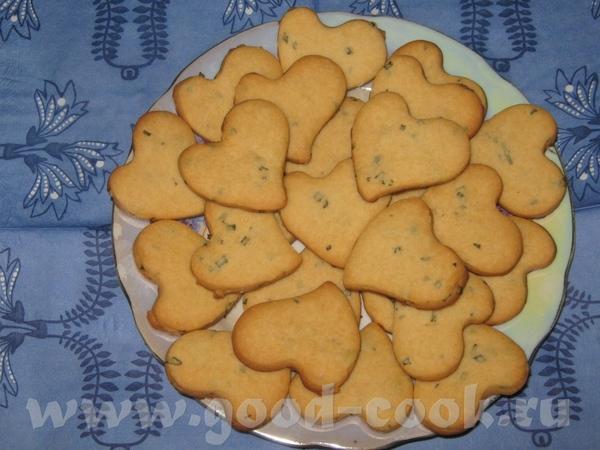 Печенье с мёдом и розмарином