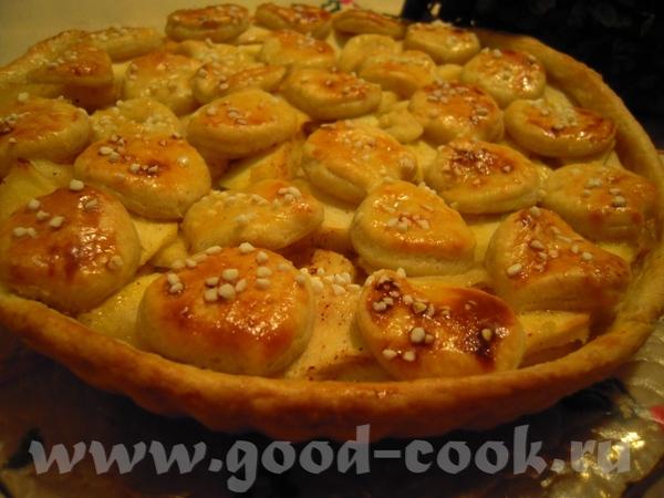 """Яблочный пирог, рецепт очень похож на Яблочный тарт от Нелли Брецли Салат """"Здоровье"""""""