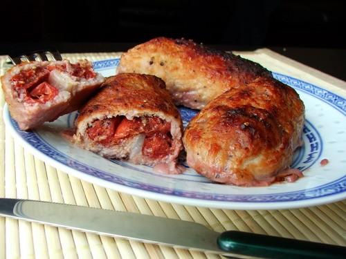 Ну и последнее что удалось запечатлить - рецепт мяса с вишней