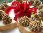 Овощные Баклажанные рулетики с сыром и перцем Закуска из цуккини с томатами в чесночно-уксусном соу... - 2