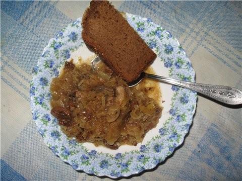 Бигос польский Грибы сушеные около 40г заварить кипятком