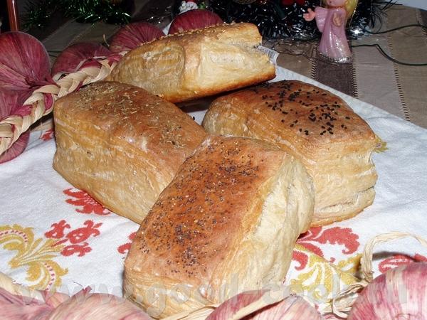 Домашние булки на сыворотке Из этих булок я делала бутерброды с икрой