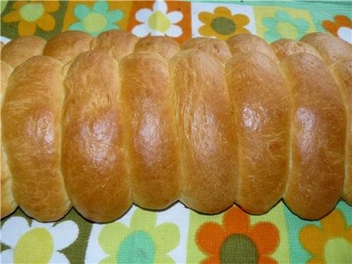 Молочные булочки - Milchbrцtchen - Petits Pains au Lait 1 кг муки из твёрдых сортов пшеницы 25 г св...