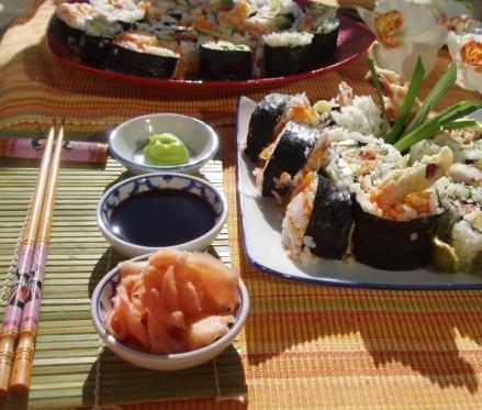 Ну и какое же суши без маринованого имбиря - 2