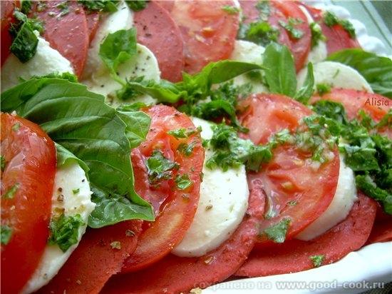 Итальянский салат очаровал моих гостей и родных, хочу поделится им с вами