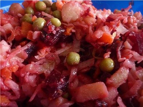 Наш обед: жаренная квашенная капустка с луком и зелёным горошком ЖАРЕНАЯ КВАШЕННАЯ КАПУСТА С ЗЕЛЁНЫ... - 2