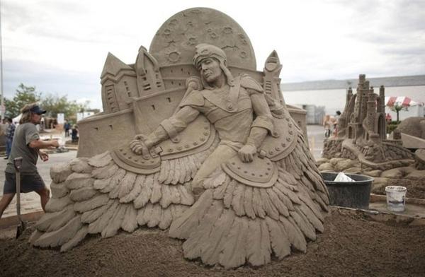Светочка, огромное спасибо за чудесные фотографии и рассказ Чемпионат мира по созданию скульптур из... - 3