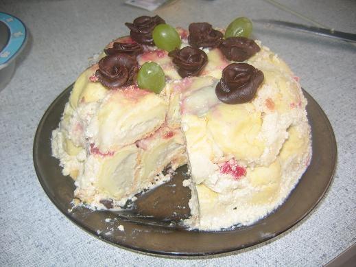 такая красота у всех,аж страшно свой тортик выставлять но все таки