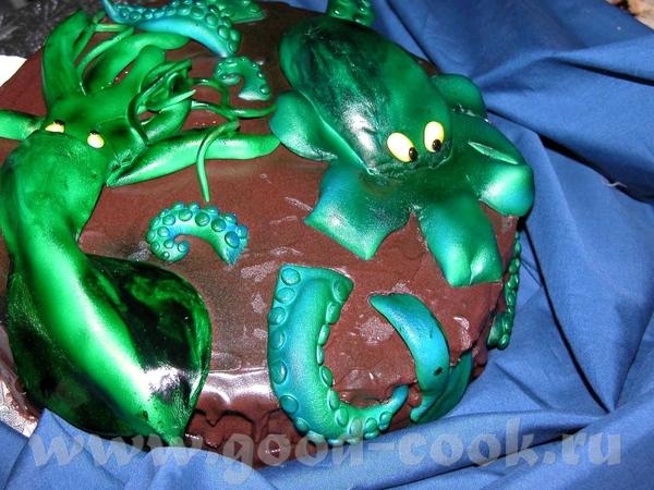 Спасибо, девочки Ето торт на ДР 8-летнего мальчика