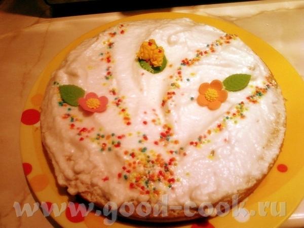 Еще вот думала не выставлять, уж очень быстрый и простой пирог, или кекс, не знаю, сварганила вчера...
