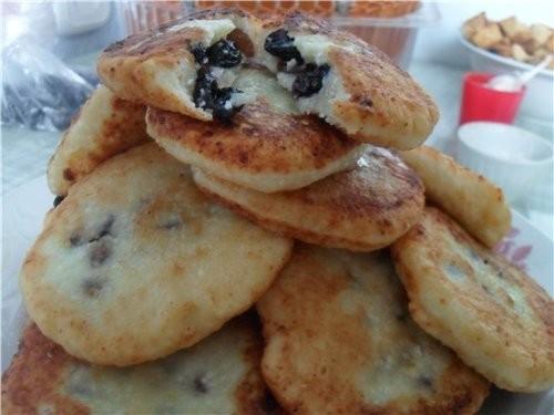Сырники по-киевски Творог 600 гр