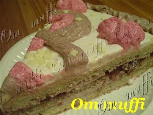 """торт """"Мушкетёры"""" - 2"""