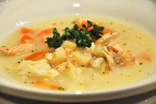 мылом не наешься, а вот супом вполне даже не было у нас картофеля, заменила его корнем сельдерея, с... - 2