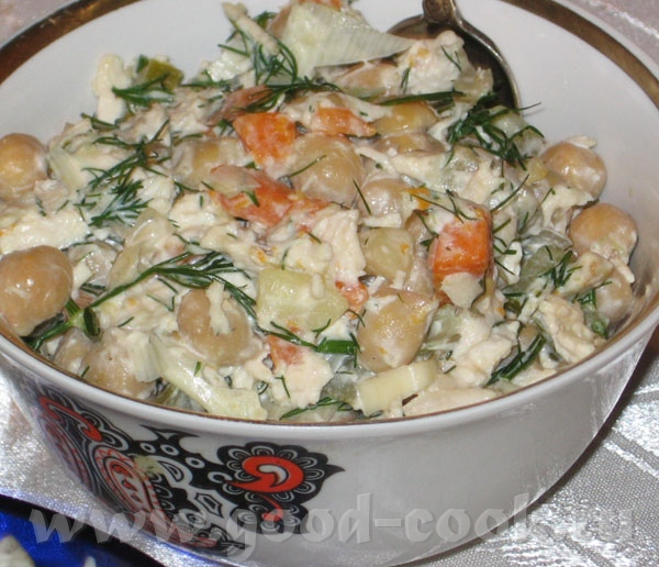 Салат из тунца - 4