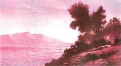 Уроки по рисованию урок масло рисуем пейзаж (анг - 7