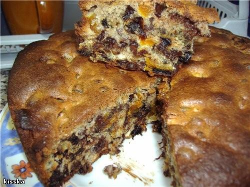 """В оригинале это не кекс,а пирог с сухофруктами из книги""""Домашняя выпечка израильского лакомки"""""""