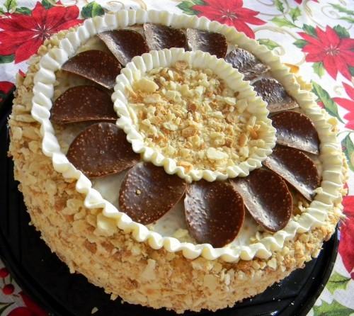 свадебный классный тортик - 4