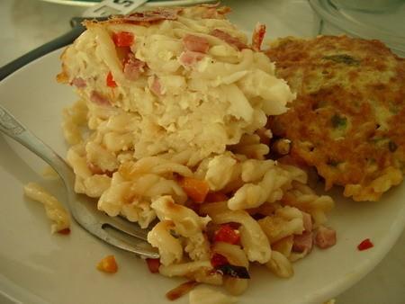 Это блюдо сделано по мотивам рецепта ЧЕШСКИХ ФЛЬЯЧИКОВ С ВЕТЧИНОЙ - 2
