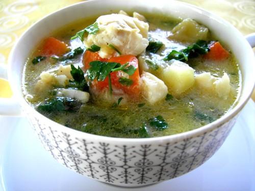 Суп рыбный с овощами Рецепт этого супа привезла моя мама из Италии лет 10 назад, и с этих пор он ст...