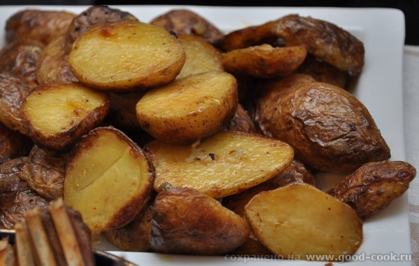 Запеченая картошечка с аджикой Заправка : 0,5 ч