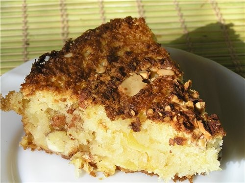 Яблочно-кокосовый пирог 150 г теплого слив - 2