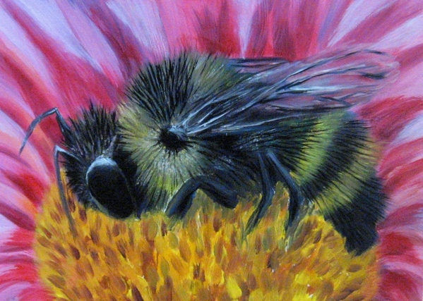 Ну вот еще и пчелку мою сегодня закончила