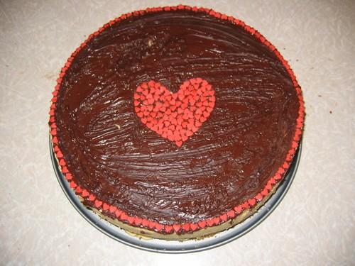 Это мой первый заказной торт: Птичье молоко-подскажите как сделать так, чтобы глазурь растеклась, а... - 4