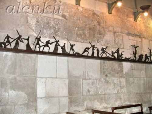 Коптская часовня сзади Святого Гроба Господня - 9