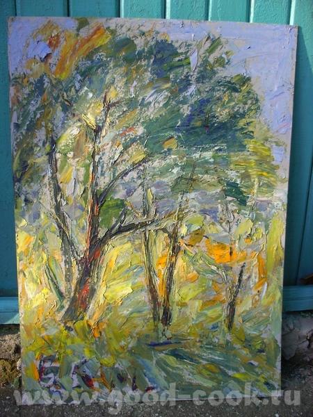 Это работы моего препода, директора школы, заслуженного художника России - Каменева В