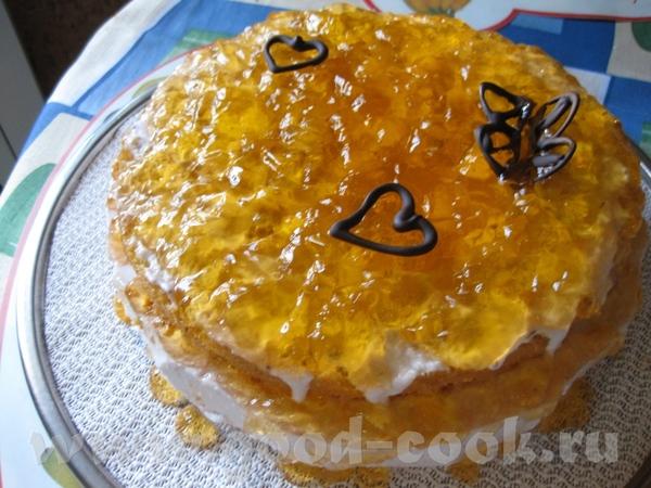 """Торт """"Янтарный"""" Автор hellena на сайте myrel"""