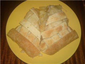 ПИРОГ С ЯБЛОКАМИ И СЫРОМ собственно процесс приготовления: беру готовое дрожжевое слоеное тесто и р...