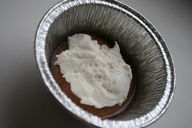 Шоколадные кексы с творожной начинкой для теста: 200 г муки 4 ч - 2