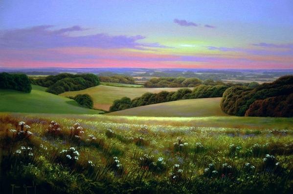 Какое многоцветие, здорово смотрится, красотища- мне очень понравилось Красота от Terry Grundy Pau... - 4