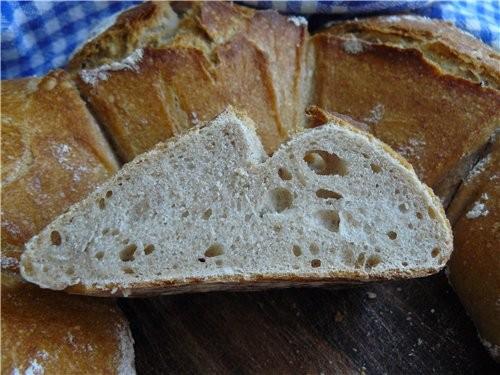 Хлебная корона из теста для Norwich Sourdoug 450 г хлебной муки, тип 550 60 г ржан - 2