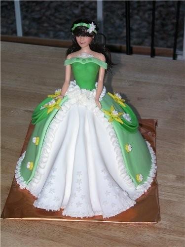 Пекла торт у подруги дочке исполнялось 4 года - 2