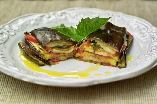 """Confit Bayaldi, или Рататуй крысенка Реми """" Sandwiches"""" d'Aubrgine et Fromage de Chevre - """"Буте... - 2"""