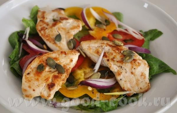 такие салаты выручают не только в случаи диеты, но и если едоков больше, нежели оставшегося куриног... - 2