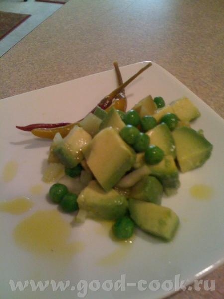 Sалат из авокадо
