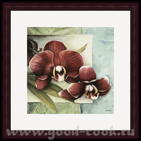 Надюнчик У меня есть такие картины с орхидеями может быть они вам понравится Martin Johnson - 3