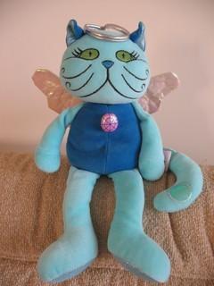 """Название на этикетке - """"Кот домашний"""" Муж называет его """"Святой кот"""" - у него есть нимб и крылья - 2"""