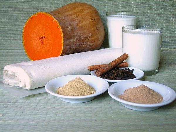 ингредиенты на тыквенный суп