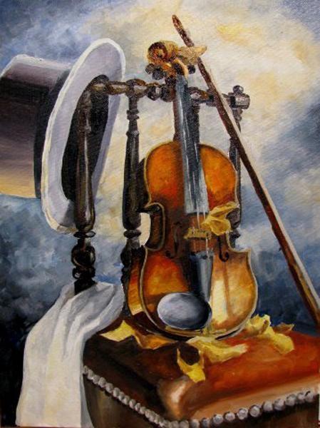 скрипка - вообще необычный инструмент - 9